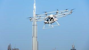 Volocopter startet Testflüge in Stuttgart
